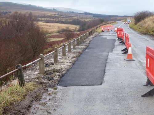 second lockerbie road repair
