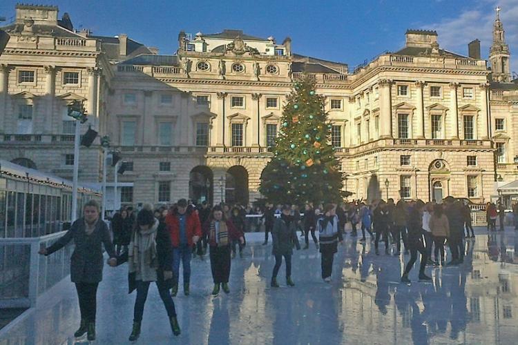 Somerset house skating