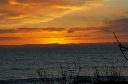 sunrise at Wemyss