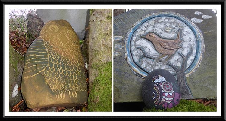 carvings at hollows