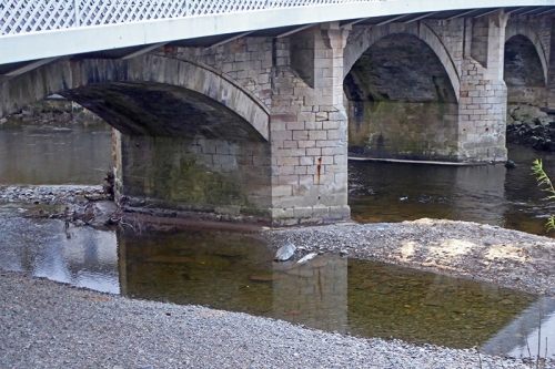 cleared langholm bridge