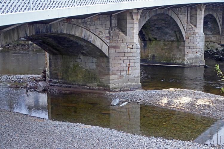 cleared langholm bridge