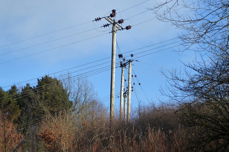 electricity poles gaskells