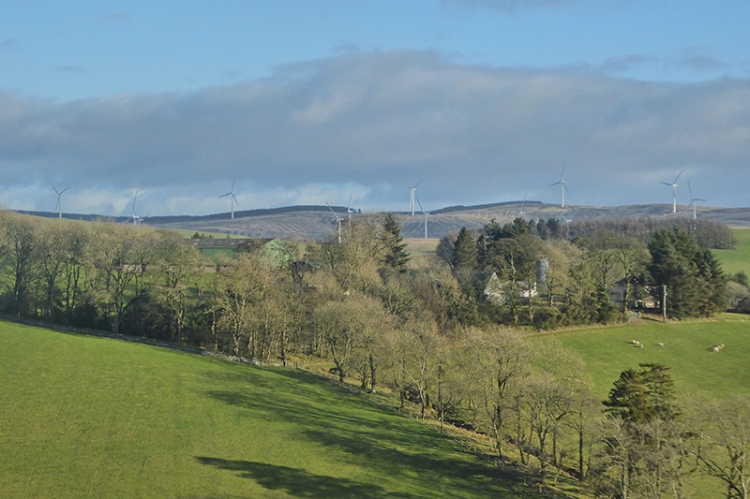ewes hill windfarm