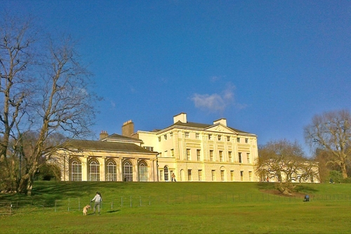 kenwood house in sun
