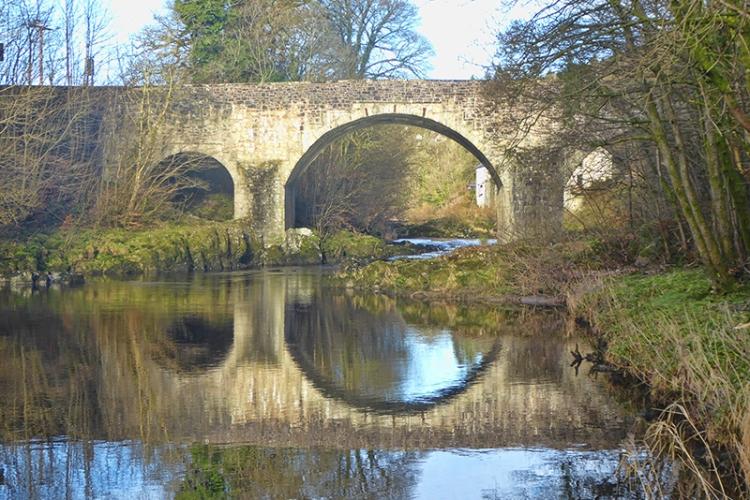 skippers bridge reflection