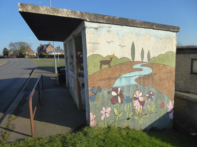 eaglesfield bus stop 2