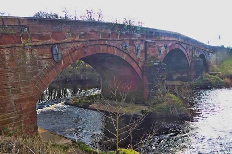 Irthing bridge