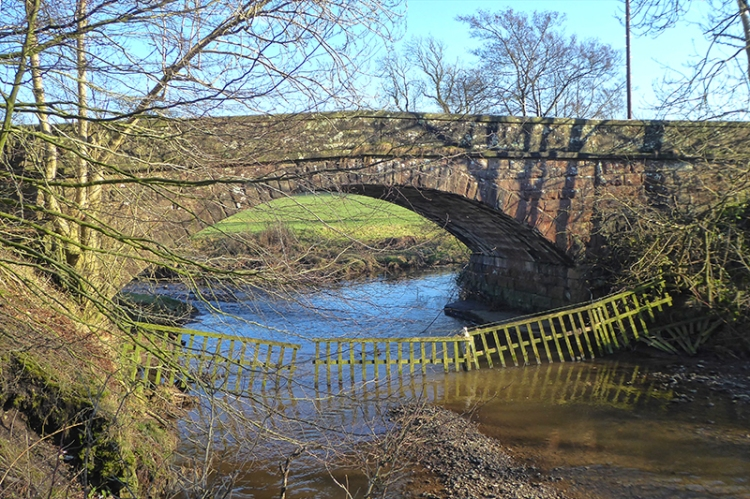 kirtle water bridge near Waterbeck