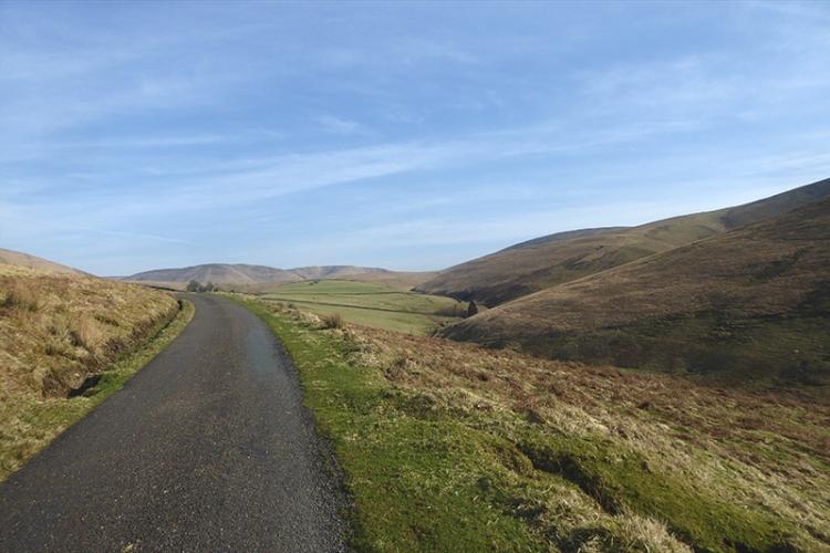 road up carrotrig hill