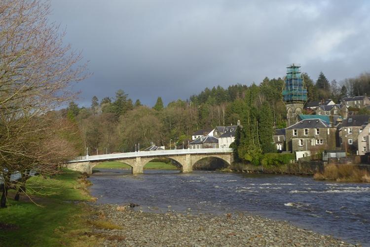 Town Bridge wet February