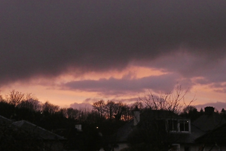 false sunset