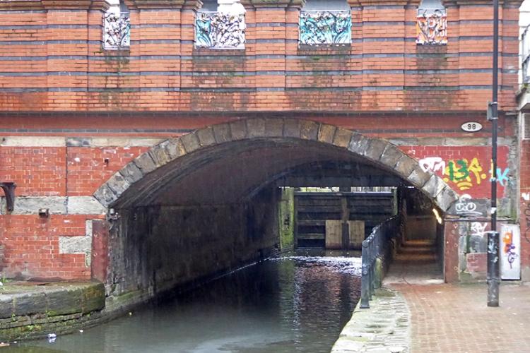 canal bridge 2 Manchester