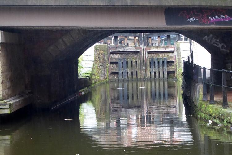 canal bridge Manchester 1