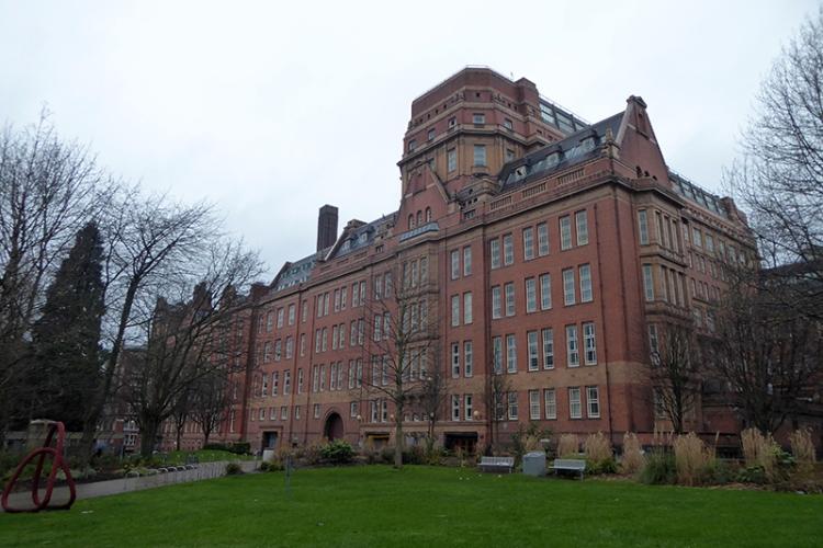 Manchester uni building