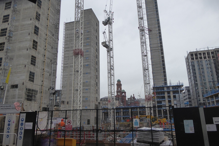 manchester building works