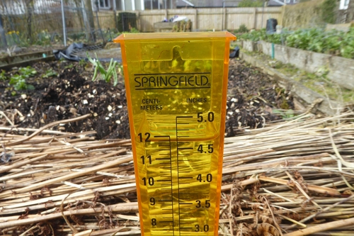 rain gauge march 19