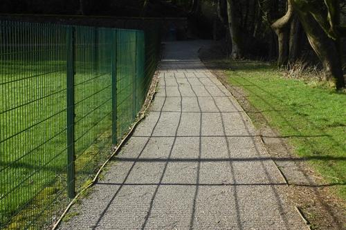 scholars fence shadow