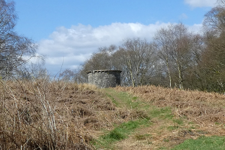 approaching round house