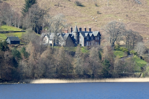 Big house St Mary's Loch