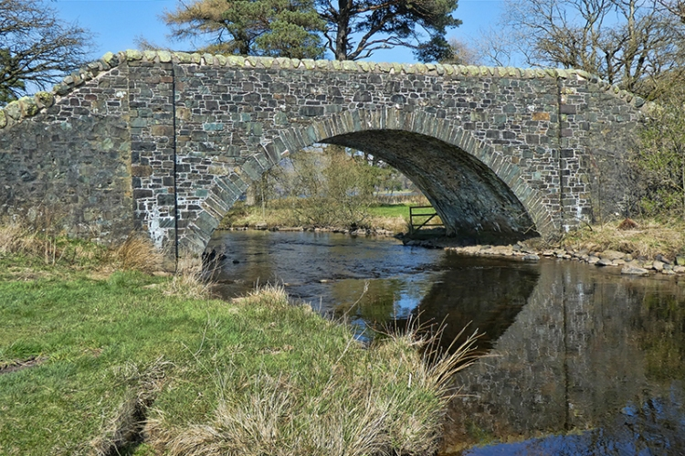 Bridge between St Mary's Loch and Loch o the Lowes