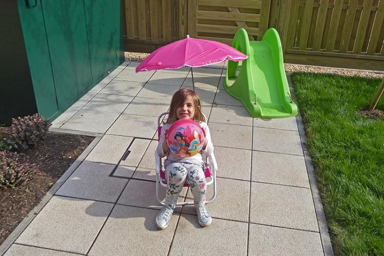 Matilda in the sun