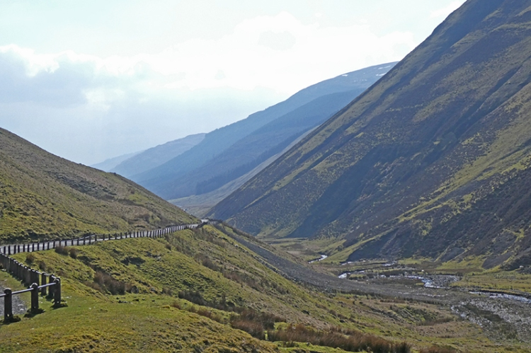 Moffat Water valley