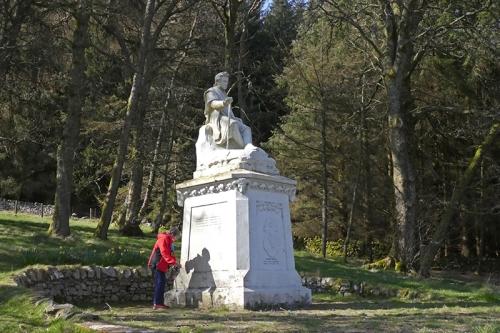 Poet's monument