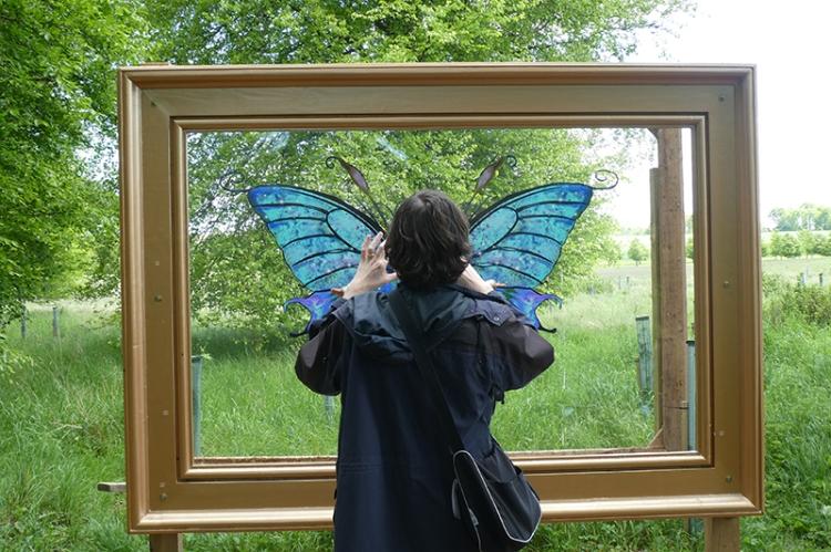artist at Archerfield