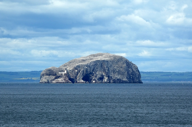 bass rock from the east