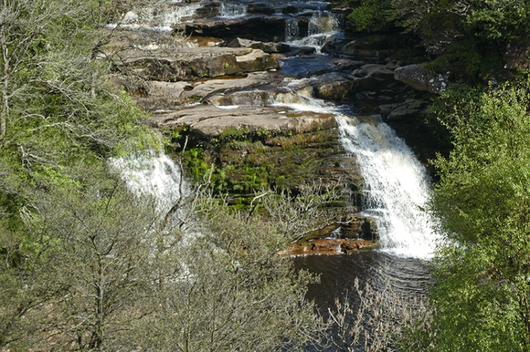 Crammel Linn waterfall close