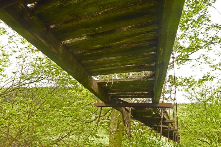 esk suspension bridge georgefield 2