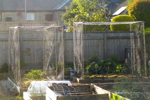 fruit cages netting