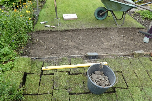 lawn renovation 3