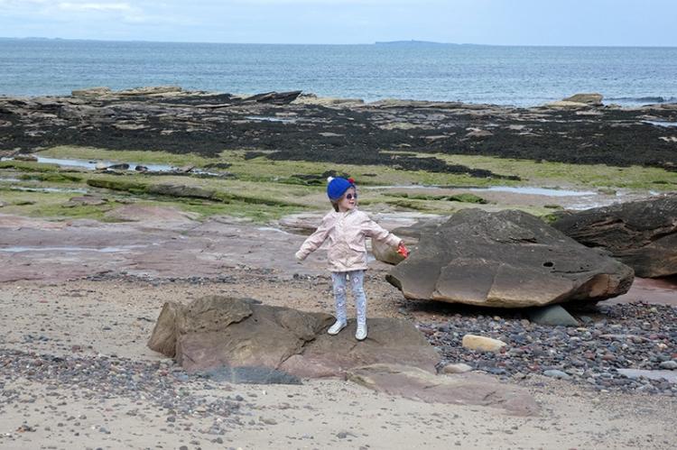 matilda on the beach