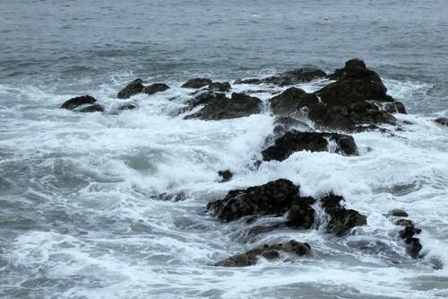 NB rocks and foam