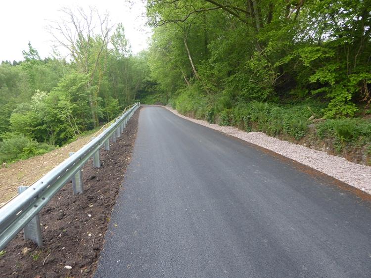 new road tarras