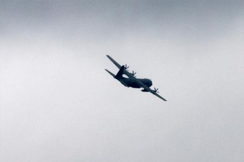 passing aeroplane