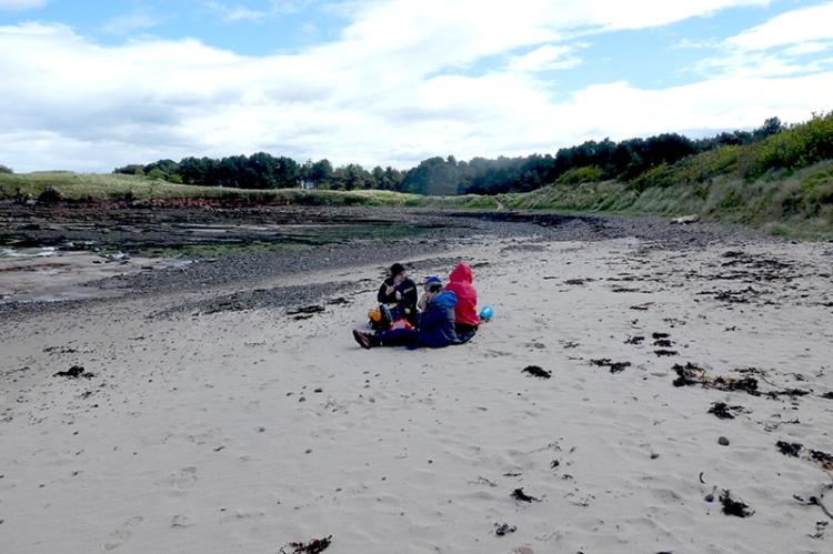 picnicn on beach