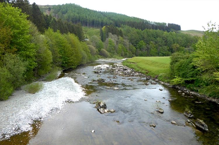 river esk from benty bridge