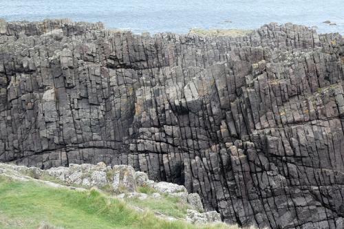 upstanding rocks