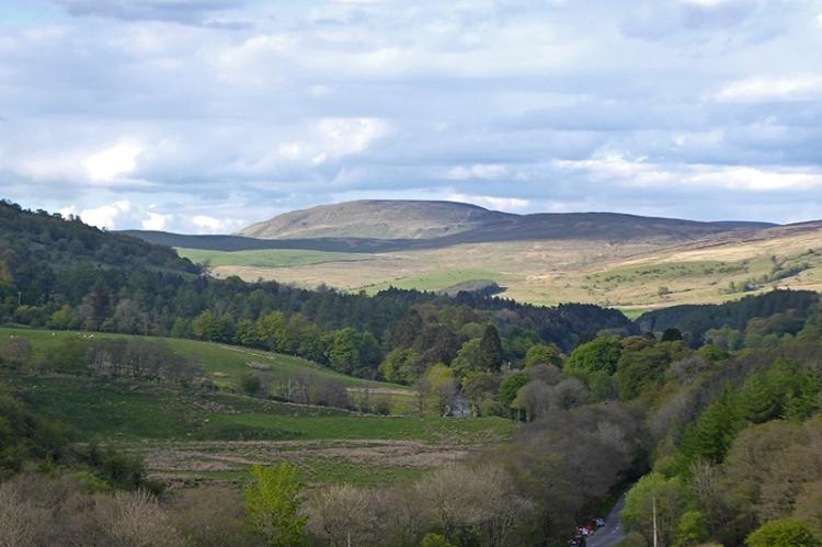 View from bessie bells