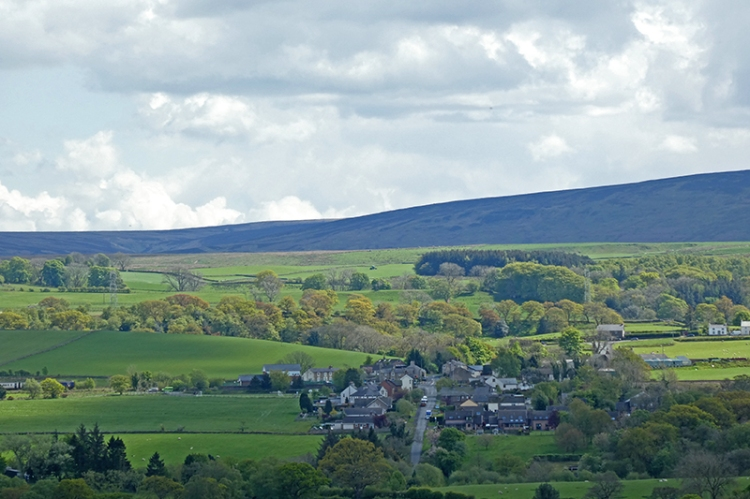 view from milecastle 56