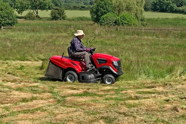 andrew making hay