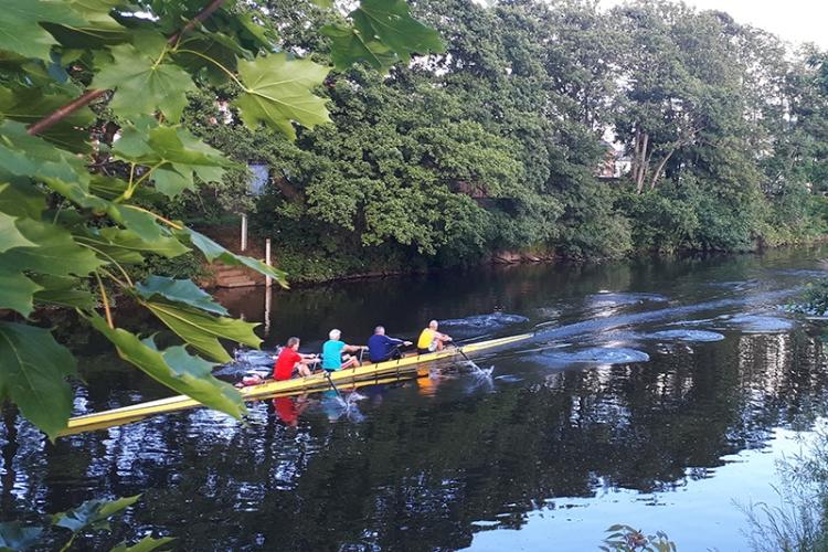 Andrew's rowers