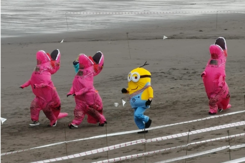beach runners Kirkcaldy