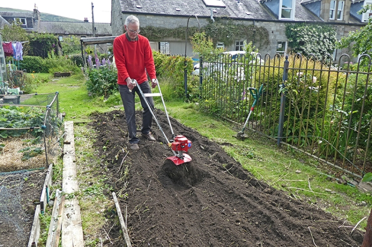 tilling the electricity bed
