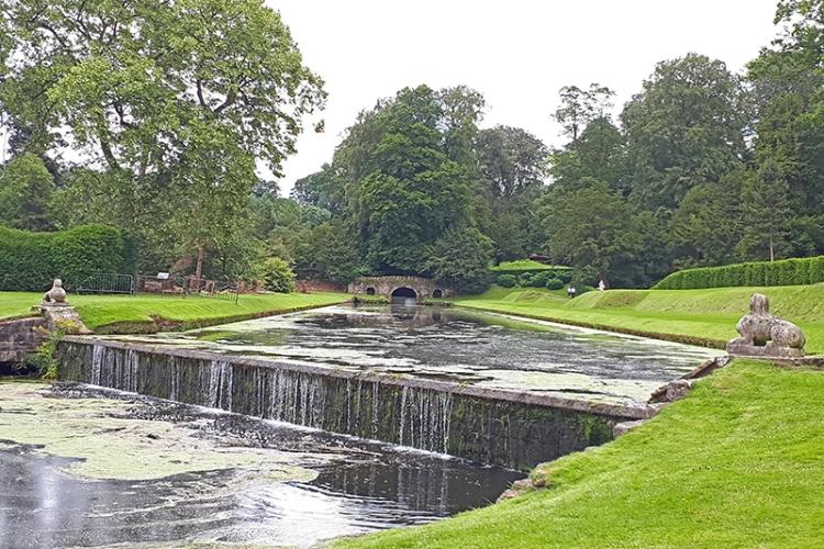 Fountains Abbey garden
