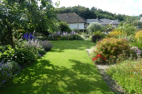 lawn on return