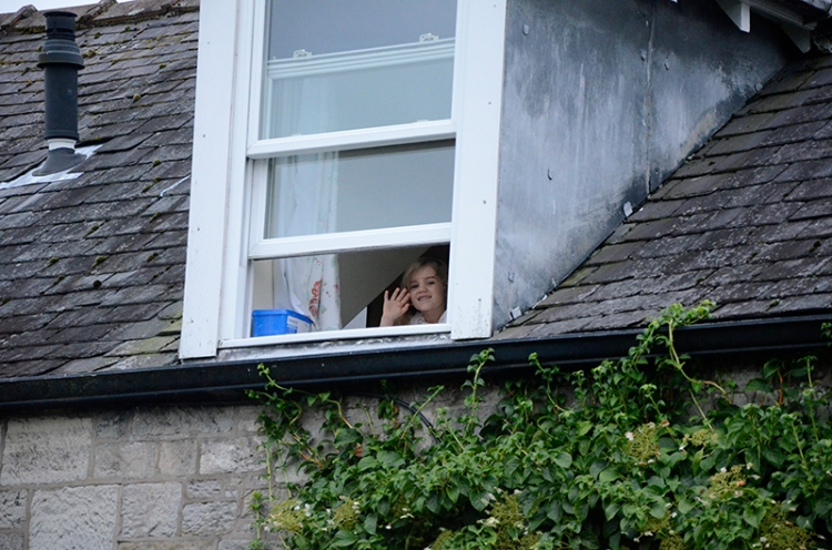 matilda at window